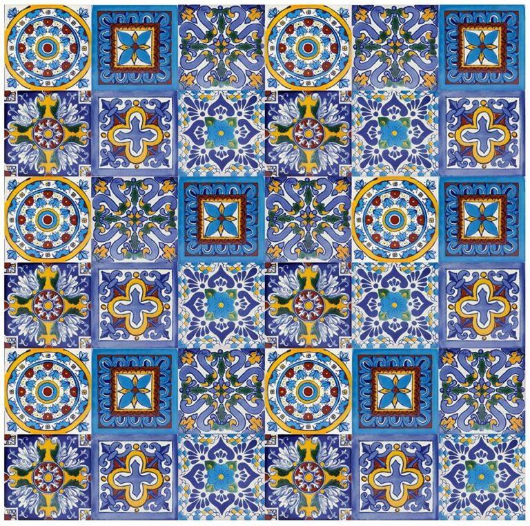 azulejo artesanal mexicano 02