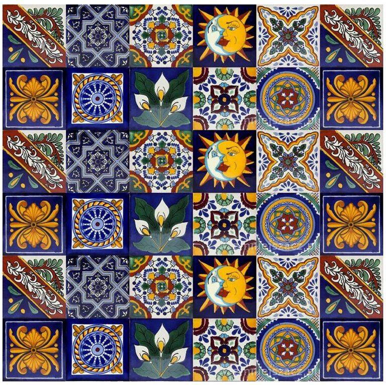 azulejo artesanal mexicano 01
