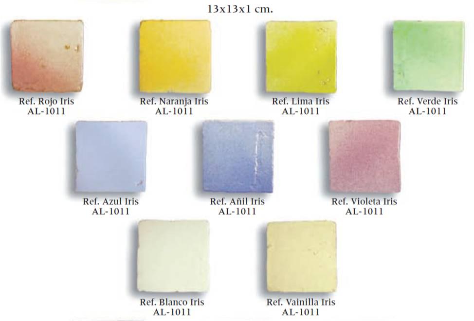 azulejo artesanal serie arco iris 01