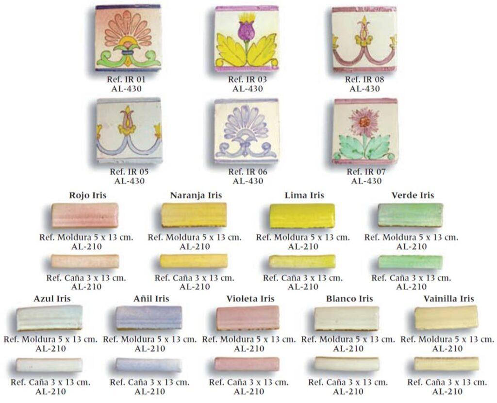 azulejo artesanal serie arco iris 02
