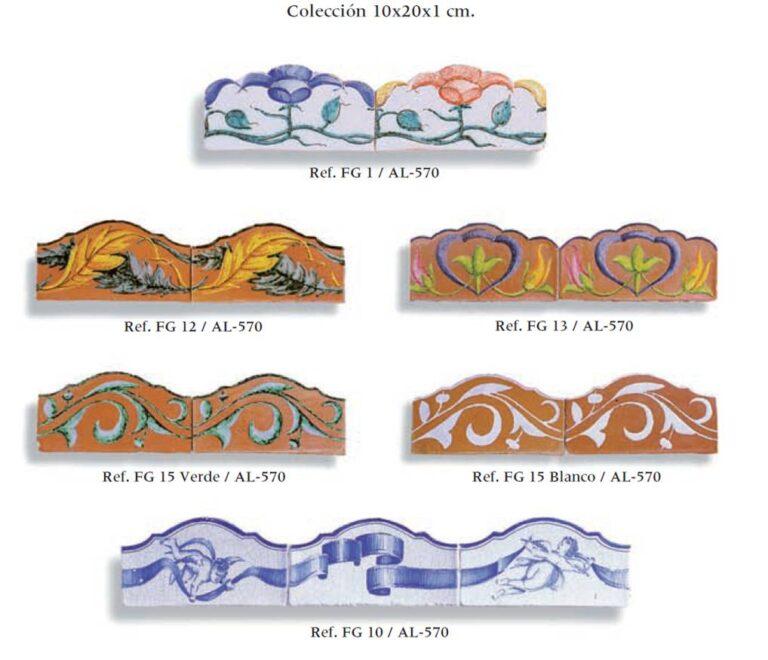 azulejos artesanales serie cenefas onduladas 01
