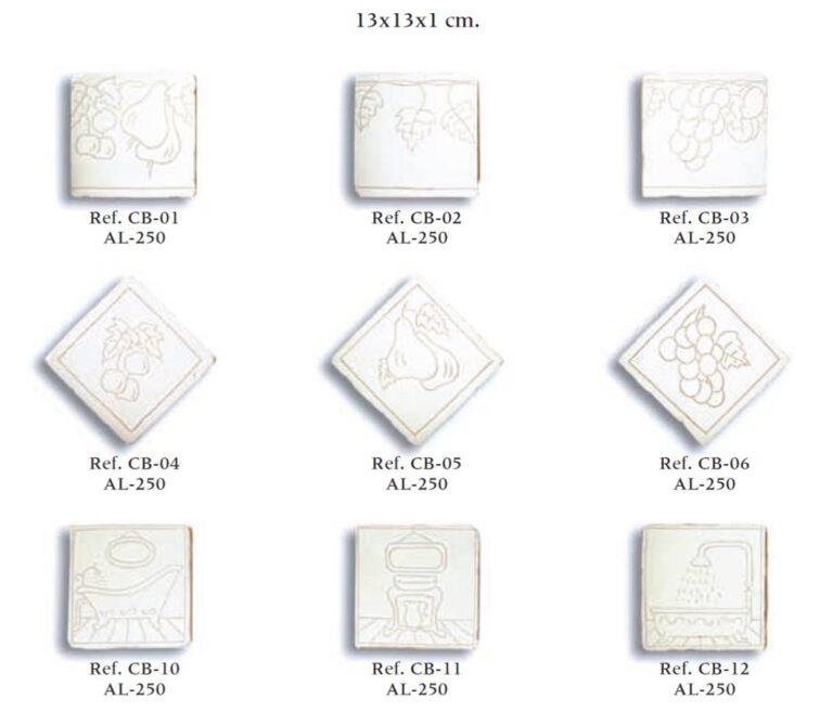 azulejo artesano serie grabados 01