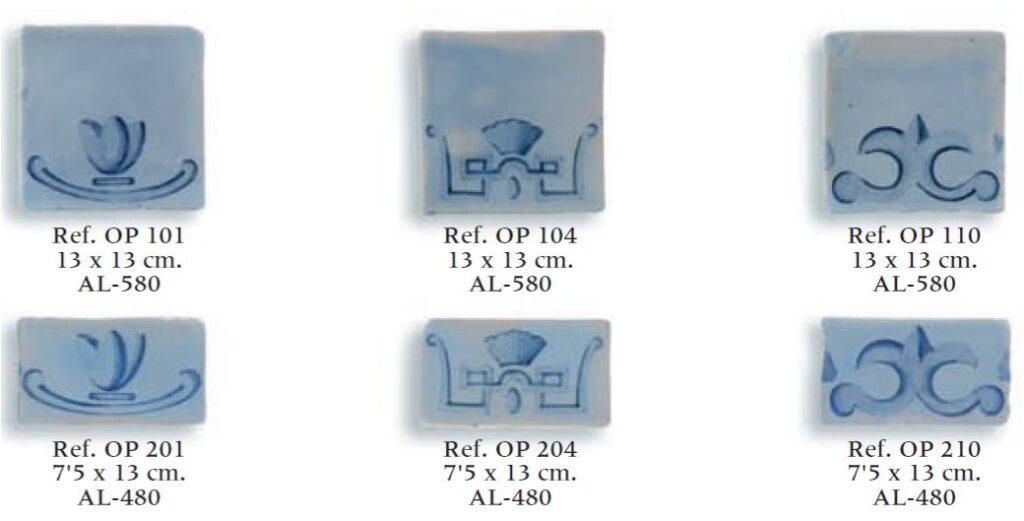 azulejos artesanales serie mate 01