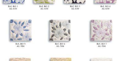 azulejo fabricado a mano serie relieve 01