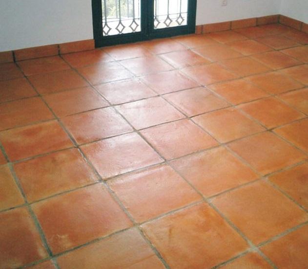 suelo de barro tonalidad rojiza 01