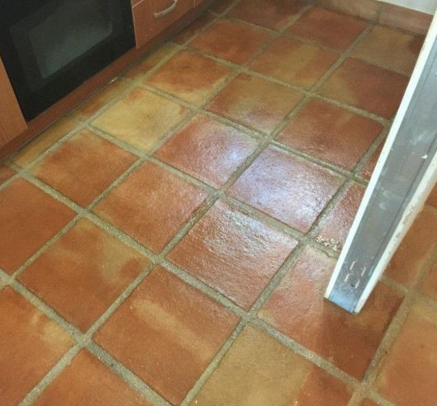 suelo de barro tonalidad rojiza 03