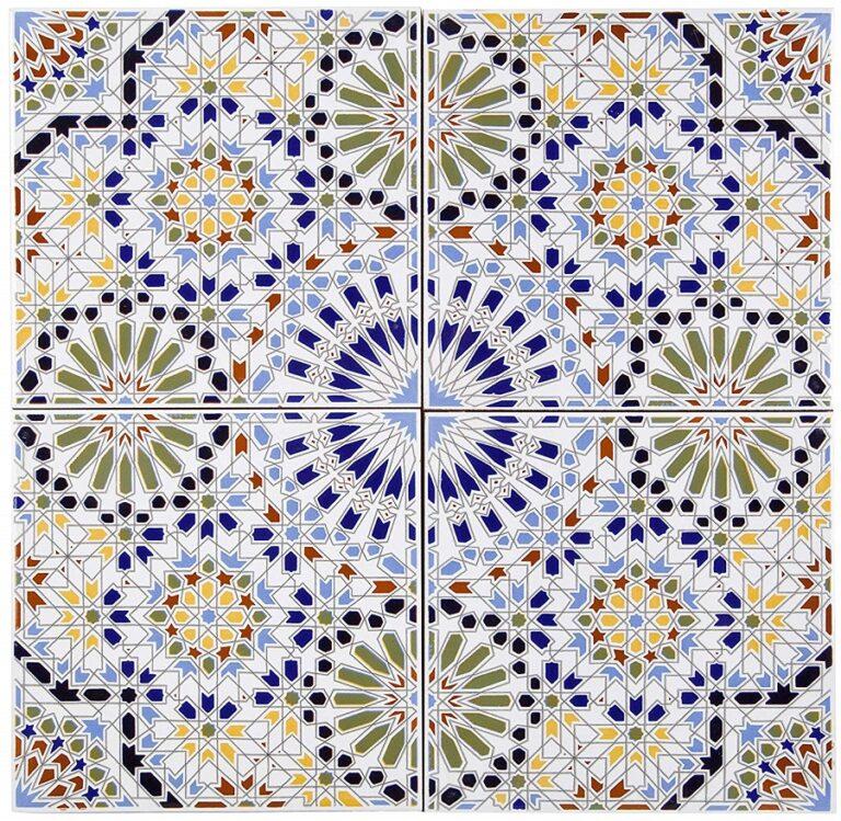 azulejos artesanales árabes 03