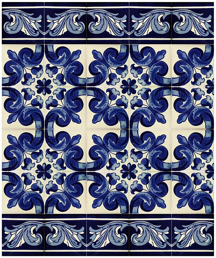 azulejos artesanales mexicanos 06