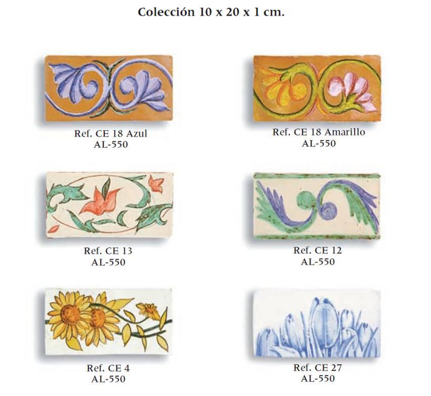 azulejos artesanales serie clasicc 10