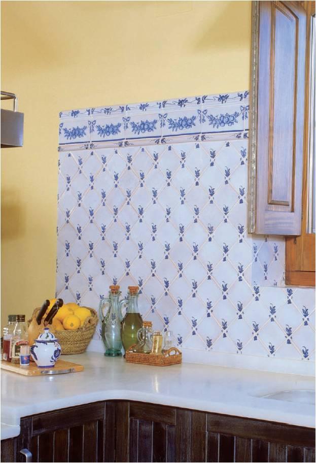 azulejos artesanales serie clasicc 12