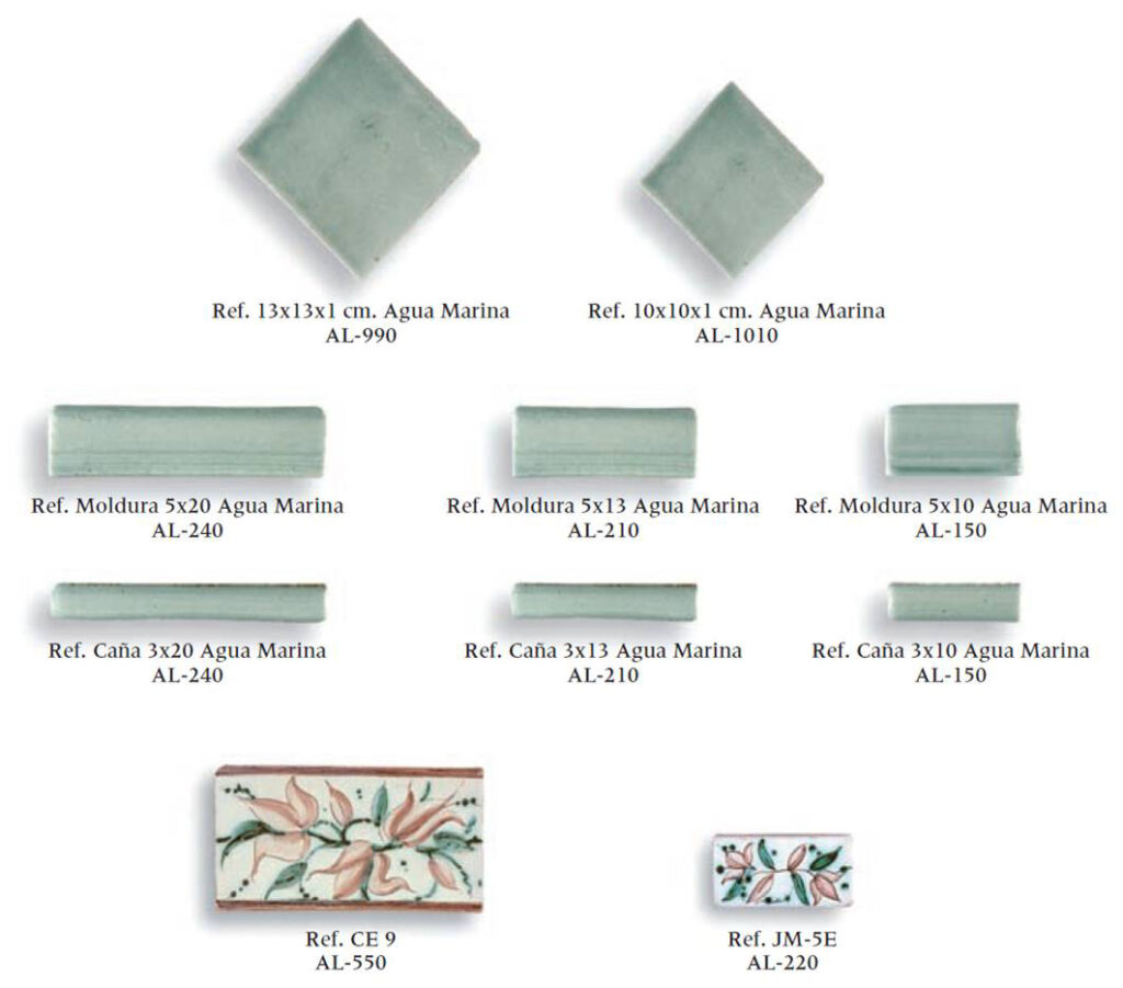 azulejos artesanales serie clasicc 13