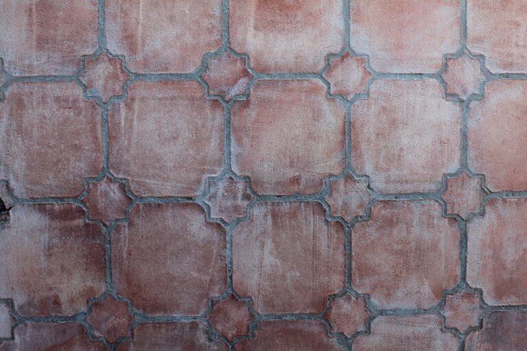 suelo de barro tonalidad rojiza combinación estrella 01