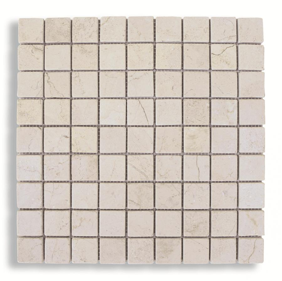 Mosaico-malla-mármol-crema-envejecido