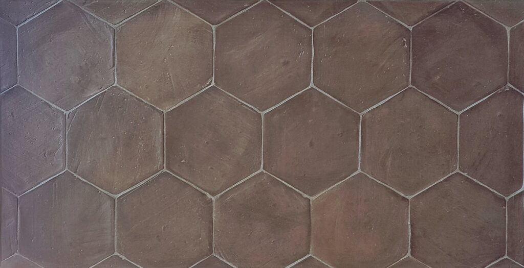losa-hexágono-terracota-tonalidad-gris