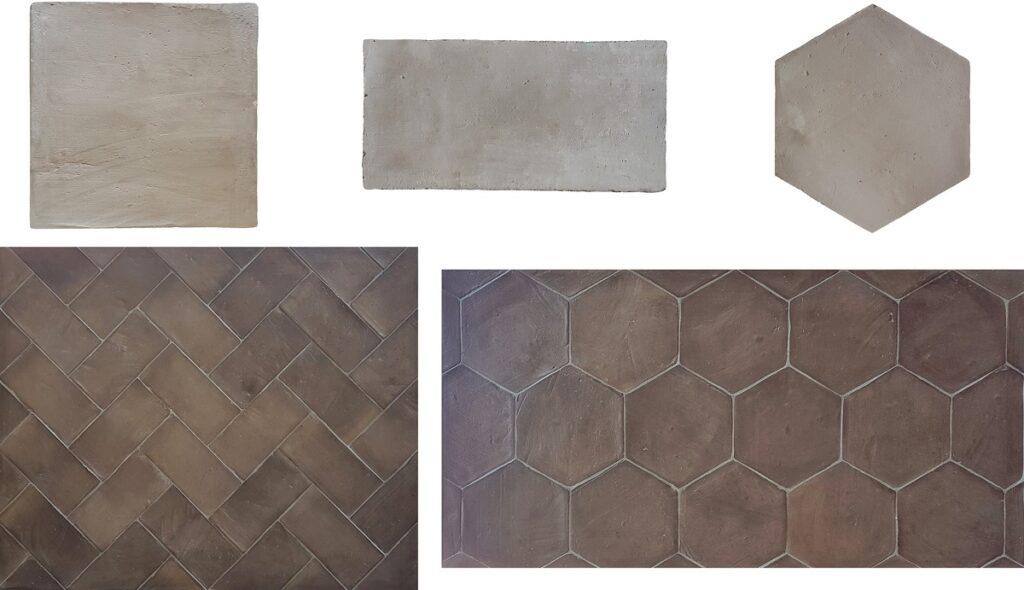 Losas-de-terracota-artesanal-tonalidad-gris